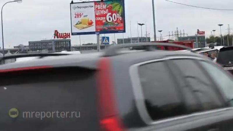 Восемь автомобилей столкнулись на Бесединском шоссе- 1 человек пострадал