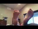 Revealing teen boy feet