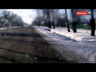 ДТП на Таллинском шоссе в СПб