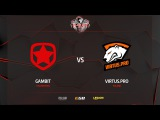Gambit vs Virtus.pro, train, PGL Major Krak