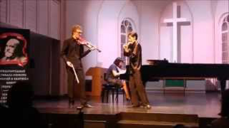 Bizet - Waxman - Carmen Fantasy for two violin and piano