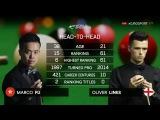 Marco Fu v Oliver Lines UK Championship 2016