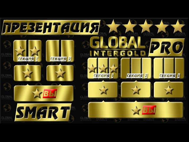 Global Intergold - презентация заказов SMART и PRO от команды NewStar