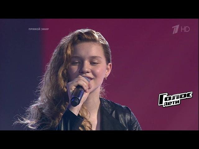 Песня победителя. Елизавета Качурак. «Любовь— волшебная страна» - Финал - Голос...