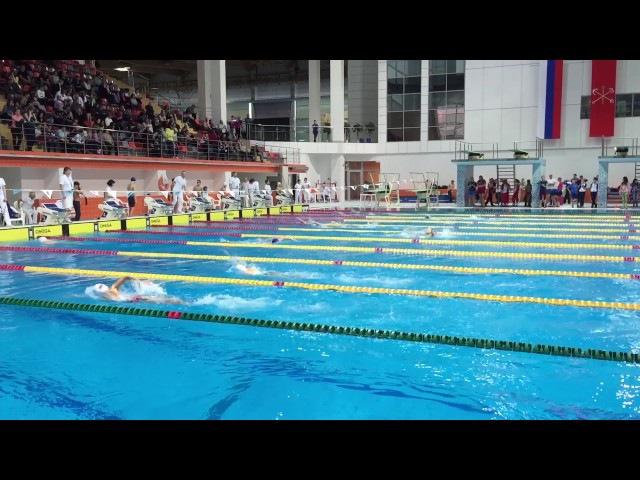 Первенство Санкт-Петербурга по плаванию 2004 г.р 400 в/ст. Мальчики 7 заплыв