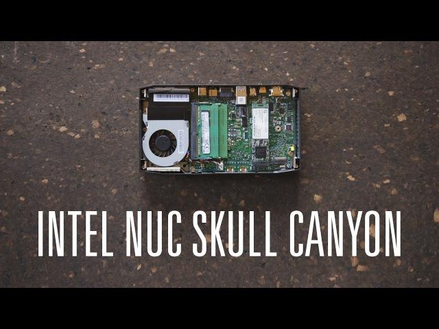Обзор Intel NUC Skull Canyon