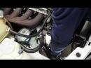Mercedes Benz 190 W201 замена генератора [Учебник]