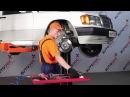 MERCEDES BENZ 190 W201 передний тормозной суппорт [Учебник]