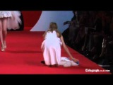 Catwalk fail supermodels fall over at Naomi Campbell's fashion event in Cannes