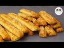 Творожные палочки с кунжутом и десерт и закуска Cheese Sticks With Sesame Seeds