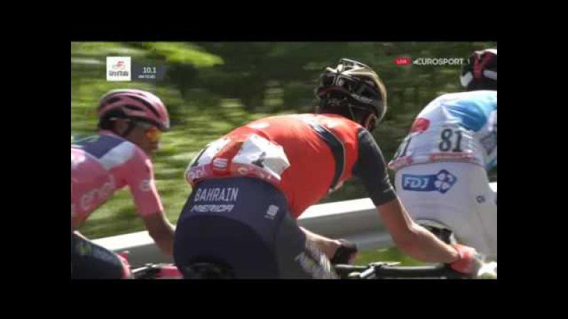 Велоспорт Джиро д'Италия 20 й этап 7 часть