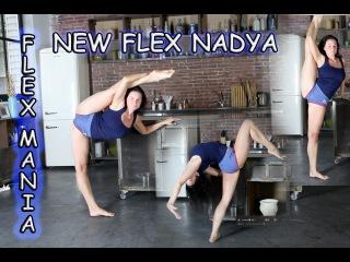 Contortion Flexilady Nadya , Extreme Stretching Gir , гибкие и растянутые гимнастки new