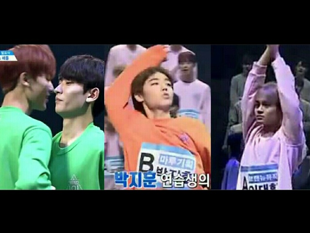 프로듀스101 시즌2 연습생 댄스배틀 대환장 파티ㅋㅋㅋㅋ Trainee Dance Battle 170505 SORA FILM