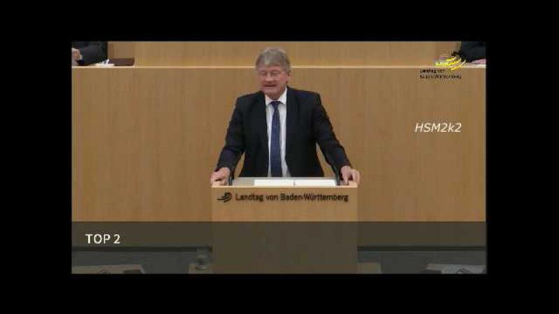 Prof. Dr. Jörg Meuthen [AfD] zu Schorndorf: