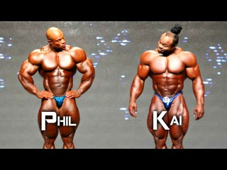 Bodybuilding Motivation - Phil Heath vs Kai Greene