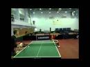 Настольный теннис для всех с Виталием Мурзиным Учим удар топ спин слева Tennis