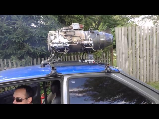 Запуск реактивного двигателя 3