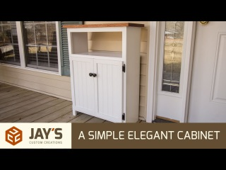 Jay Bates | Making A Simple Elegant Cabinet