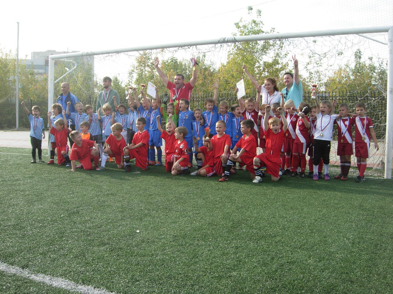 Результаты игр чемпионата города Подольска среди детских команд 2006 г.р. за 04.05.2017 года