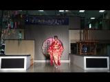 京都・西陣織会館・着物ショー