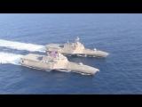 ВМС США - Littoral Combat Ships (ЛВП) Парусный спорт в образовании [1080p]