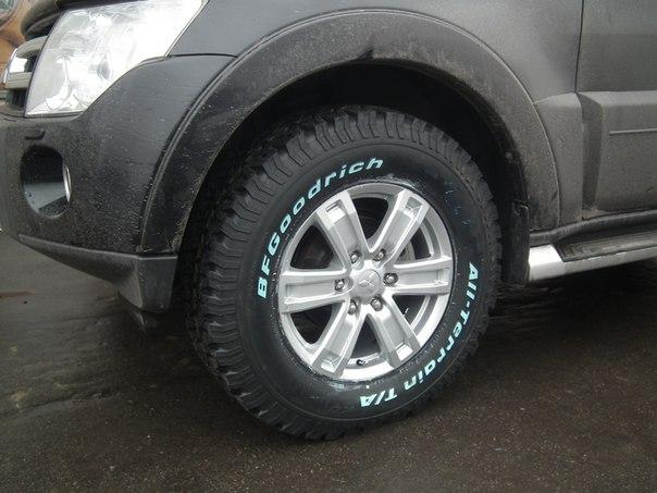Всесезонные шины BFGoodrich All-Terrain 50% дорога, 50% бездорожье.