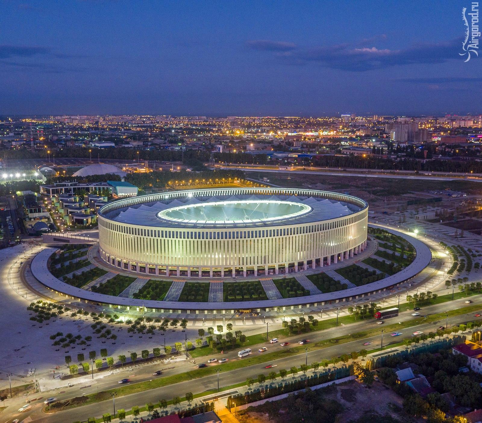 краснодарский стадион фото