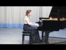 Репко Екатерина - В.А.Моцарт - Соната A dur 1 часть