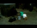 уличный кастрюльно-сковородный индастриал