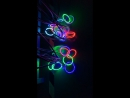 YGLIGHT RGB LED Angel Eyes for Car Headlights