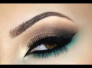 ♡Smokey Eye ♡ Marrom e Verde ♡