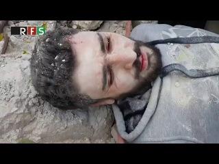 Кадры «ожившего мертвеца» из Сирии взрывают Сеть