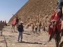 Египет. Каир. Нил. Пирамида Хеопса. Африка.