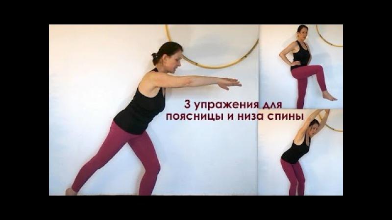 Упражнения для укрепления низа спины и поясницы. Фитнес дома для женщин