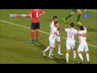 Goal: Diego Costa (9 october 2016, World Cup qualification 2018)