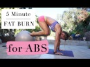 6 EXERCISES FOR ABS - 5 Minute Fat Burn 127