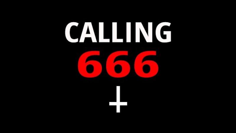 CALLING 666 666 6666 GONE WRONG - THE DEVIL CALLED BACK