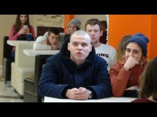 Основа быдло-гопо банды ОНИЖЕДЕТИ в ТЦ Клевер 8.12.16 Дмитриев Дмитрий