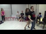 Zouk Teachers Crazy Jam Part III @ Ipanema dance studio Novosibirsk  15042017