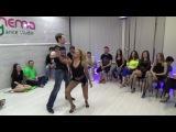 Zouk Teachers Crazy Jam Part IX @ Ipanema dance studio Novosibirsk  15042017