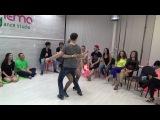 Zouk Teachers Crazy Jam Part XI @ Ipanema dance studio Novosibirsk  15042017