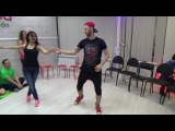 Zouk Teachers Crazy Jam Prezentation Vitalii&ampNadya @ Ipanema dance studio Novosibirsk  15042017