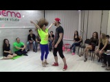 Zouk Teachers Crazy Jam Part VII @ Ipanema dance studio Novosibirsk  15042017