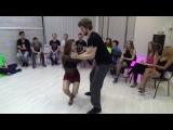 Zouk Teachers Crazy Jam Part X @ Ipanema dance studio Novosibirsk  15042017