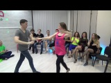 Zouk Teachers Crazy Jam Part V @ Ipanema dance studio Novosibirsk  15042017