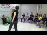 Zouk Teachers Crazy Jam Prezentation Vilkov &ampAnna @ Ipanema dance studio Novosibirsk  15042017