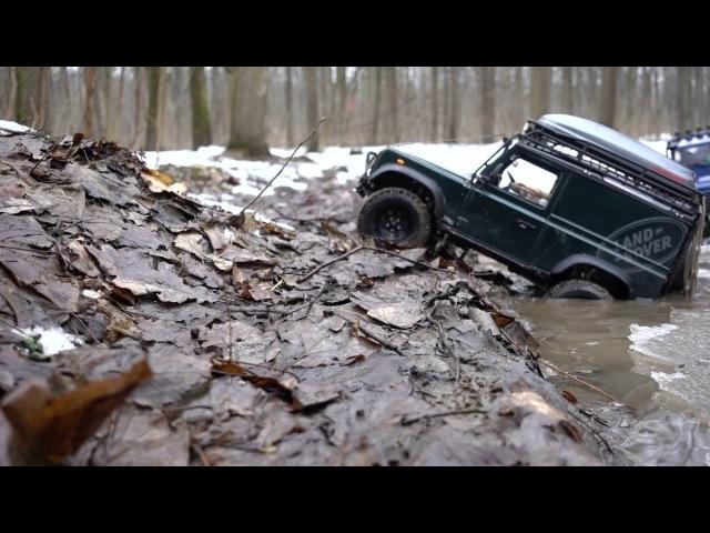 Land Rover defender 90 WildBrit, rc defender 110 HCPU Easter Egg