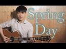 BTS 방탄소년단 봄날 Spring Day - Guitar Cover