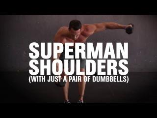 Superman Shoulders superman shoulders