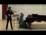 Karol Szymanowski Sonata for violin and piano d-moll (2-3 mov)